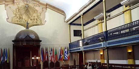 Masonería, el Nacimiento de una Nación, con ingreso a la Gran Logia y Cena entradas
