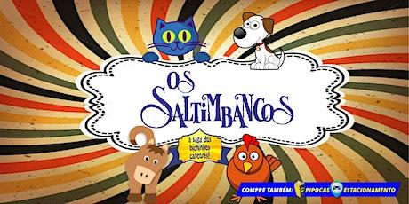 Desconto: Os Saltimbancos, no Teatro BTC ingressos