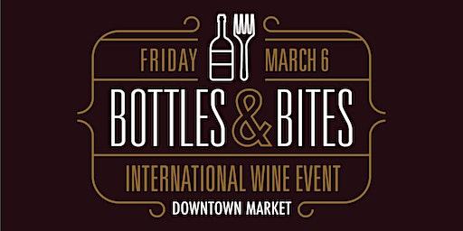 Bottles & Bites: International Wine Event