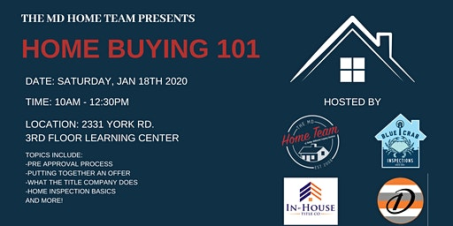 January: Home Buying 101
