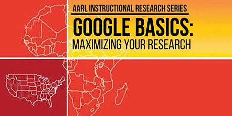 Instructional Series: Google Basics and Drive tickets