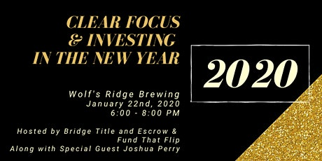 Investing in the New Year with Bridge Title and Escrow & Fund That Flip tickets