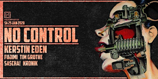 No Control - Kerstin Eden (Abstract, Naked Lunch)
