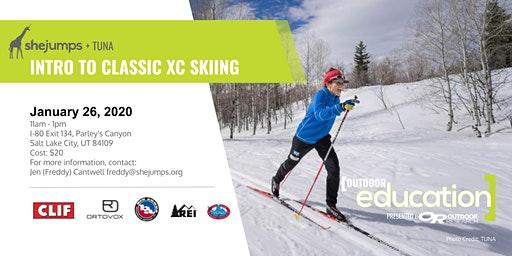 UT SheJumps + TUNA Intro to Classic XC Skiing