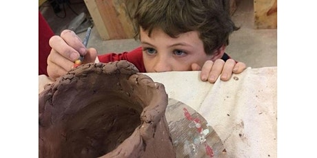 First Time Clay Artist 1 (Summer 5-Lesson Class)  (07-13-2020 starts at 10:00 AM) tickets