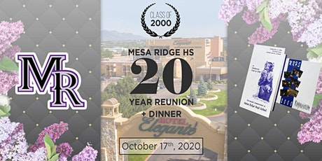 Mesa Ridge C/O 2000 20 Year Reunion tickets