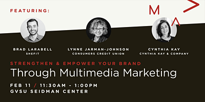 Strengthen & Empower Your Brand Through Multimedia Marketing