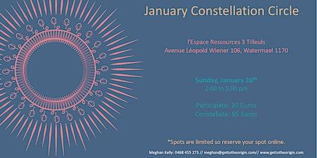 January Constellation Circle tickets