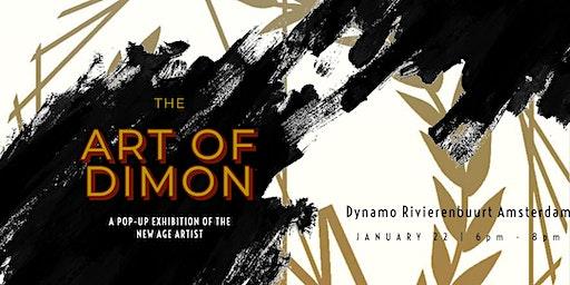 The Art of Dimon | Pop-up exhibition