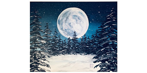 Paint Party: Moonlight with Kristie Leigh (Adult Only, BYOB)