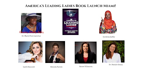 America's Leading Ladies Book Launch Miami! Gathering and Discussion Day 2 tickets