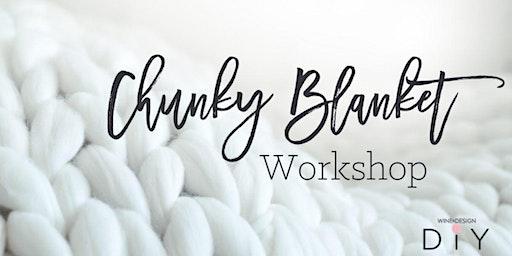 Wine & Design | Chunky Blanket Workshop