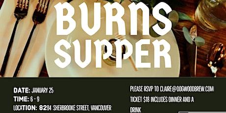 Dogwood Burns Supper tickets