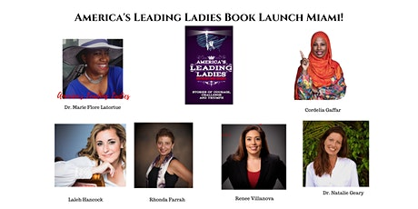 America's Leading Ladies Book Launch Miami! Day 1 tickets
