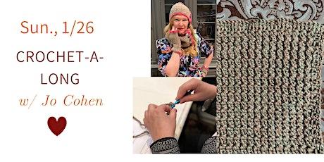 Crochet-A-Long Month 1 tickets