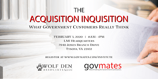 govmates Institute: The Acquisition Inquisition