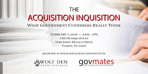 govmates Institute: The Acquisition Inquisition