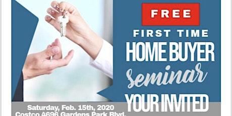 Free Homebuyer Seminar tickets