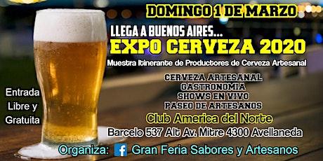 EXPO CERVEZA 2020 entradas