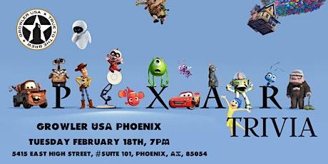 Disney Pixar Movie Trivia at Growler USA Phoenix tickets