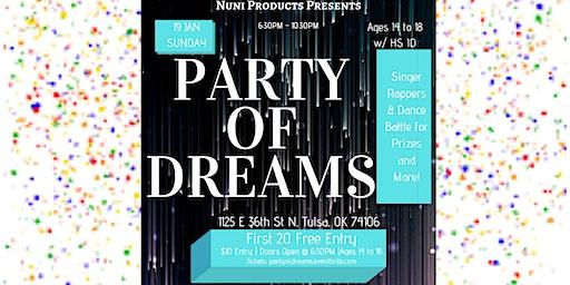 Party Of Dreams