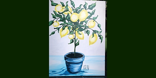Paint Party: Lemon Tree with Kristie Leigh (Adult Only, BYOB)