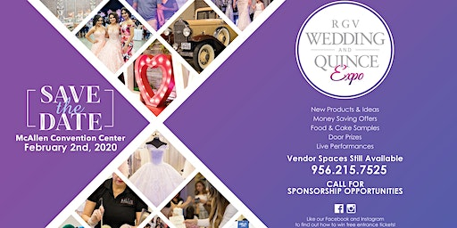 RGV Wedding and Quince Expo - February 2nd