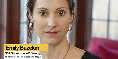Q&A with Emily Bazelon - John P. Frank Memorial Lecture 2020 tickets