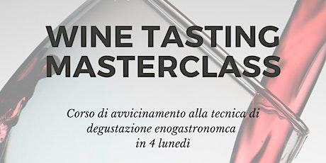 Corso di degustazione vino biglietti