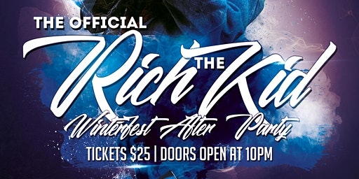Official Rich The Kid Winterfest After Party @ Blanche Nightclub!!!