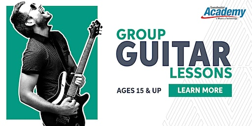Group Guitar Lessons (Ages 15 & Up)
