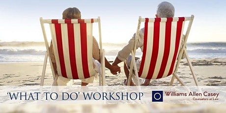 What To Do Workshop tickets