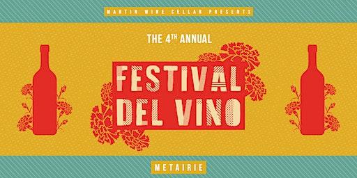 4th Annual Festival Del Vino: Metairie