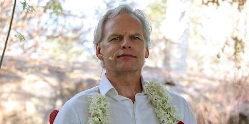 Satsang with John de Ruiter in Ramana's Garden, Rishikesh