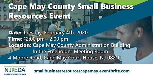 Cape May County Small Business Resources Workshop