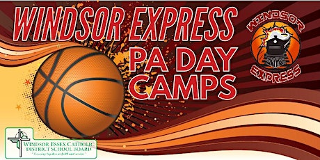 Windsor Express PA Day Basketball Camps tickets