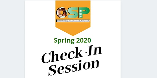 OSP Check-In Session