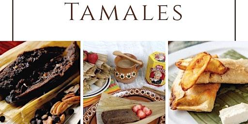 Tamales de la Abuela Chef Liza Ojeda en Anna Ruíz Store