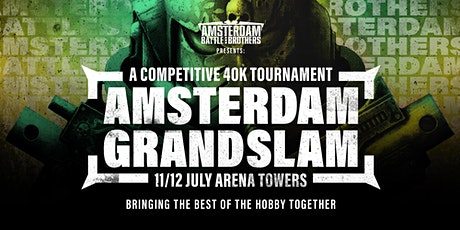 The Amsterdam Grand Slam billets