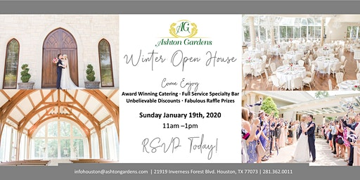 Ashton Gardens Houston North 2020 Winter Open House