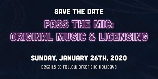 Pass The Mic - Original Music & Licensing