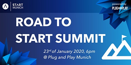 Road to START Summit 2020 by START Munich & Plug and Play tickets