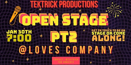 #TekTrick Open Stage Networking Party [Part II] tickets