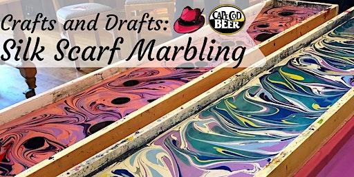 Crafts & Drafts: Silk Scarf Marbling