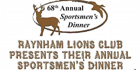 68th Annual Sportsmen's Dinner tickets