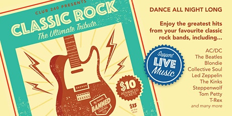 CLASSIC ROCK - The Ultimate Tribute tickets