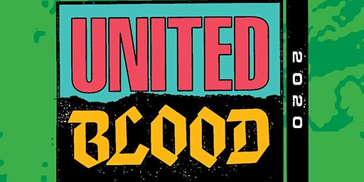 United Blood Festival 14 Fri and Sat April 3 and 4
