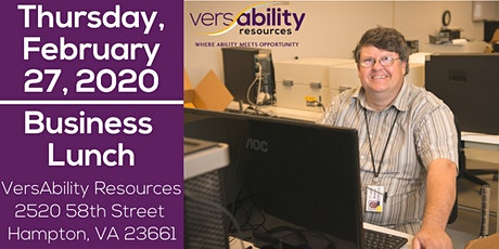 VersAbility February Business Lunch tickets