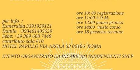 S.O.M SNEP e corso di Petrucci  biglietti