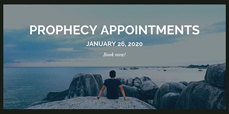 Prophecy Appointments tickets